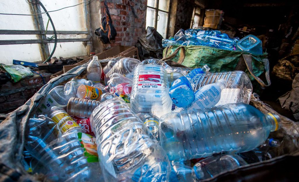 Сдать пластиковые бутылки в Екатеринбурге - Клевер
